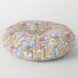 Kawaii Junk Food Munchies Floor Pillow
