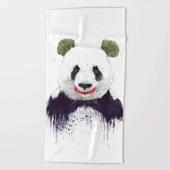Jokerface Beach Towel