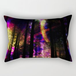 close your eyes and dream with me Rectangular Pillow