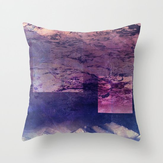Oceans In The Sky Throw Pillow