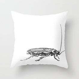 Cucaracha #9 Throw Pillow