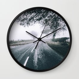 Country Roads Wall Clock