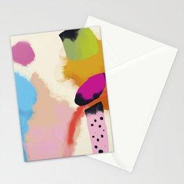 la vie en rose  art abstract minimal Stationery Cards