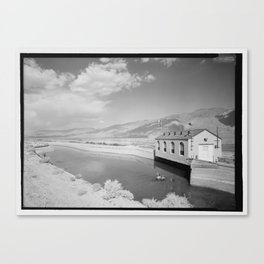 Los Angeles Aqueduct, Alabama Gates, Los Angeles Canvas Print