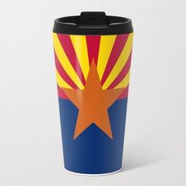 State flag of Arizona, Authentic HQ image Travel Mug