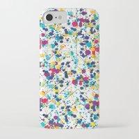 splatter iPhone & iPod Cases featuring Splatter by Regan McDonell Design