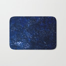 Blue Galaxy Bath Mat