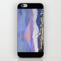 nasa iPhone & iPod Skins featuring NASA APOD. ASTRONOMY PICTURE OF THE DAY! Lenticular clouds over Granada and Sierra Nevada at sunset by Guido Montañés