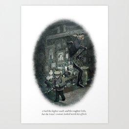 Behind You 48 Art Print