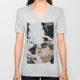 Cool JFK Jackie Kennedy Nostalgia Unisex V-Neck