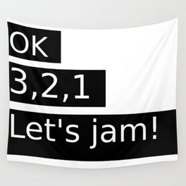Let's Jam! Wall Tapestry