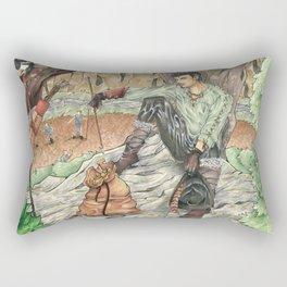 A Magpie`s Loot Rectangular Pillow