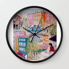 Toulouse, FRANCE          by Kay Lipton Wall Clock