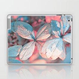Dried Blue Pink Hydrangea Laptop & iPad Skin