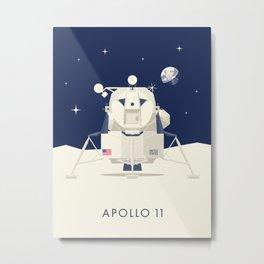 Apollo 11 Space - Lunar Lander Module Metal Print