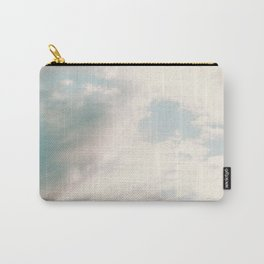 The Blues | Deep blue sky clouds photography Carry-All Pouch