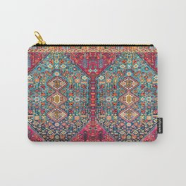 N131 - Heritage Oriental Vintage Traditional Moroccan Style Design Carry-All Pouch