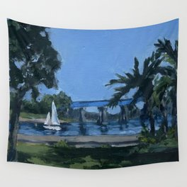 Hide Away Park Wall Tapestry