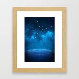 Virgo: Astrological Art Framed Art Print