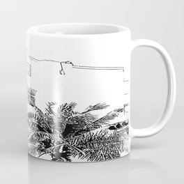 Miami Beach Hotel Coffee Mug