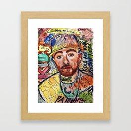 KIDS,colourful,colorful,poster,wall art, fan art,music,hiphop,rap,rip,rapper,legend,best day ever Framed Art Print