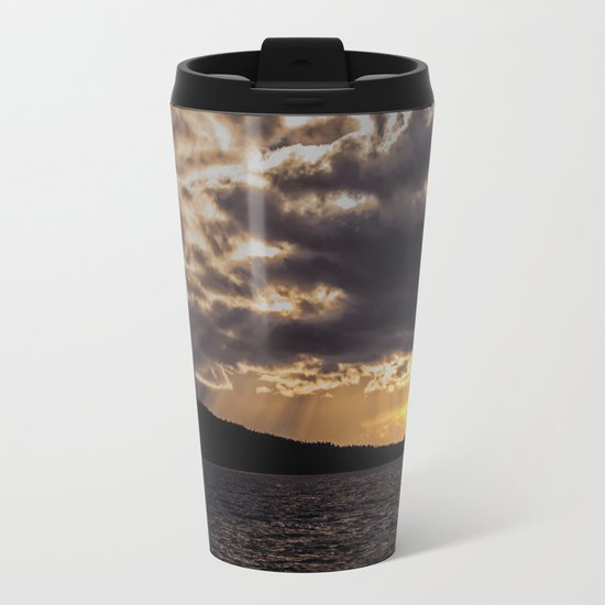 Dramatic change in the weather Metal Travel Mug