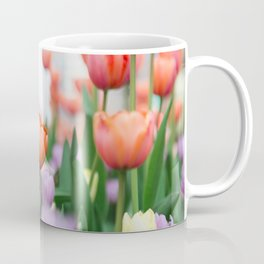 Tulips in Layers Coffee Mug