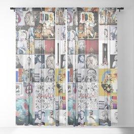 Mac Miller Mix 01 Sheer Curtain