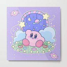 Kirby Candy Land Magical Door Metal Print