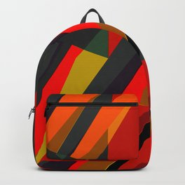 Spike Abstract art Backpack