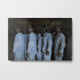 Mustard Gas Mechanics Metal Print