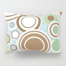 Retro Circles Pillow Sham