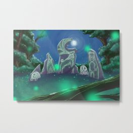 Forest Council Metal Print