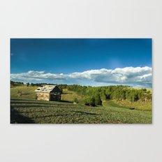 Rocky Mountain Rustic Canvas Print
