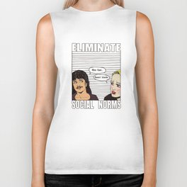 Ability to eliminate social norms Biker Tank