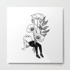 Let me bloom Metal Print