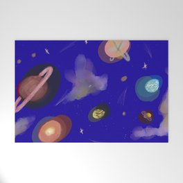 Space Story Welcome Mat