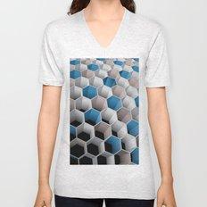 Honeycomb Unisex V-Neck