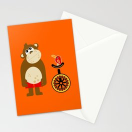 Mr. Monkey Stationery Cards