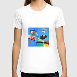Self-portrait of the Artist painting T-shirt