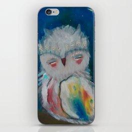 Owl Baby iPhone Skin