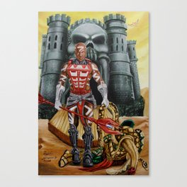 Zodak : King Hiss Defeated Canvas Print