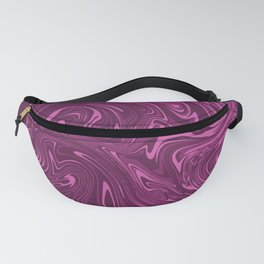 Toxic purple marble Fanny Pack