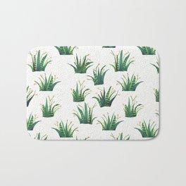 Field of Aloe Bath Mat