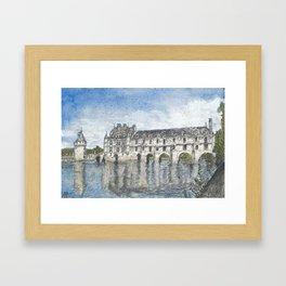 Château de Chenonceau Framed Art Print