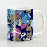 blues brothers Mugs featuring The Blues Brothers by Ale Giorgini