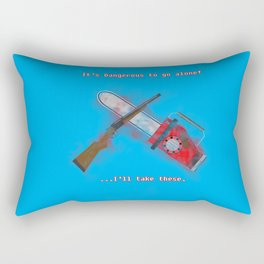Evil Dead: It's Dangerous to go alone! Rectangular Pillow