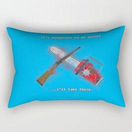 Evil Dead: It's Dangerous to go alone! Rectangular Pillow