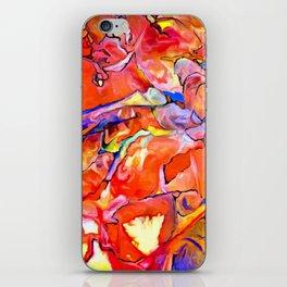 Fire Opal Impressions iPhone Skin