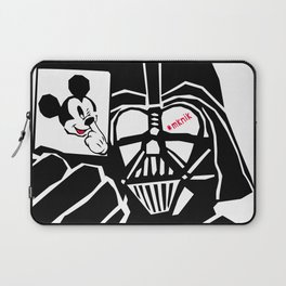 Take the mickey out of the dark Laptop Sleeve